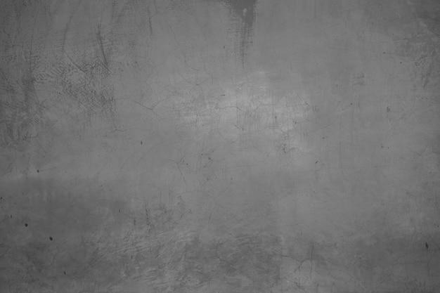 Parede de cimento escuro e cinza e parede de textura de concreto