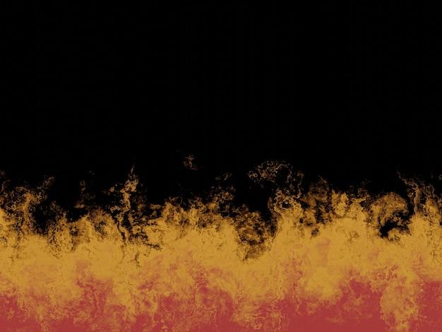 Parede de cimento fogo abstrata