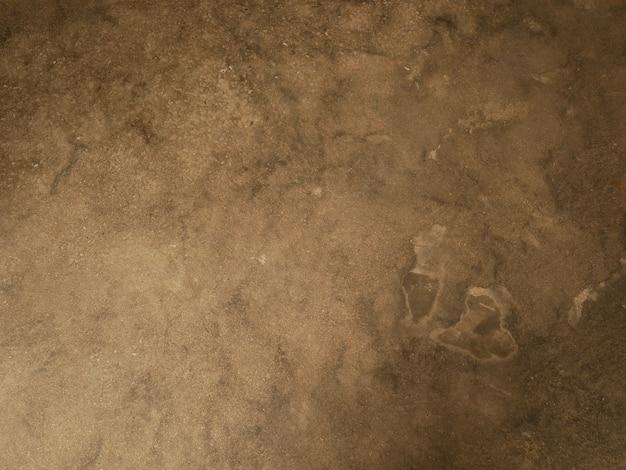 Parede de cimento marrom