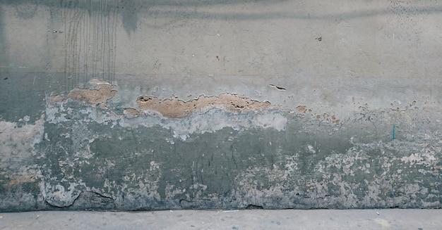 Parede de cimento velha e suja