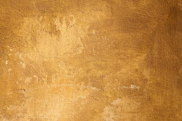 Parede de cimento vintage rara textura de fundo laranja abstrato