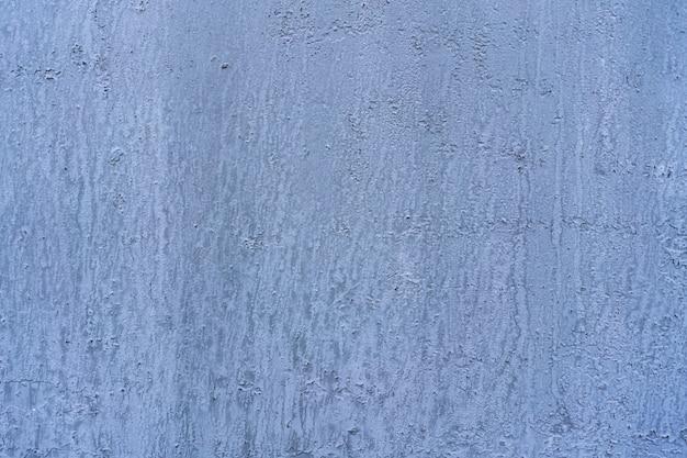 Parede de concreto azul e cor branca para o fundo da textura