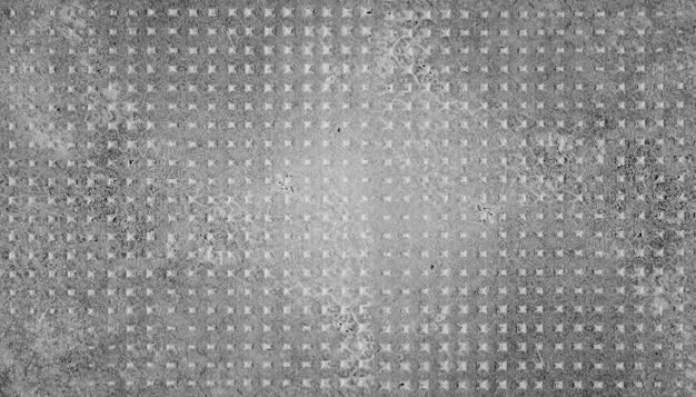 Parede de concreto quadrado