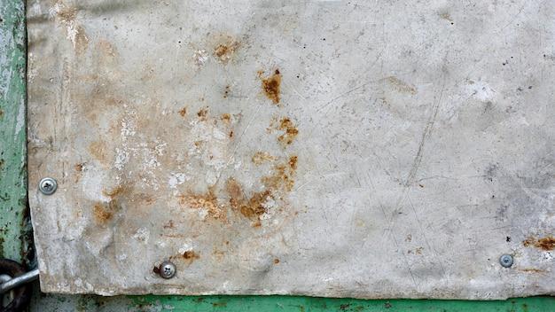 Parede de cópia cinza vintage enferrujada