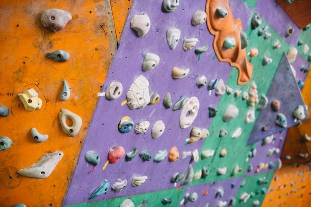Parede de escalada agradável