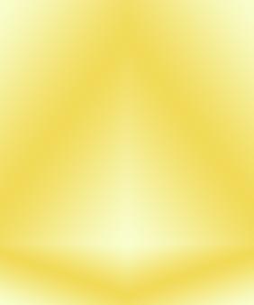Parede de estúdio gradiente de ouro amarelo abstrato de luxo, bem como uso como plano de fundo, layout, banner e apresentação do produto. Foto gratuita