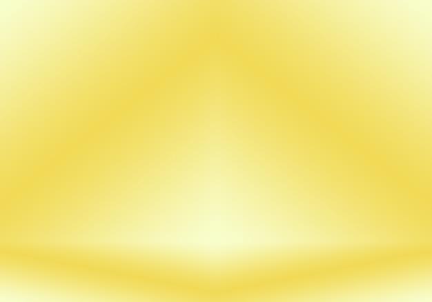 Parede de estúdio gradiente de ouro amarelo de luxo abstrato bem usar como backgroundlayoutbanner e pres ... Foto gratuita