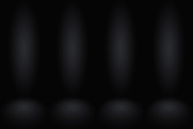 Parede de gradiente escuro abstrato modelo cinza escuro espaço em branco.