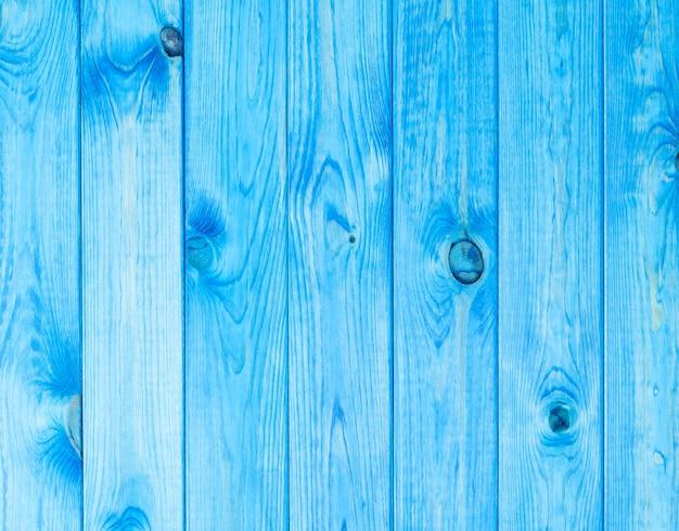 Parede de madeira azul