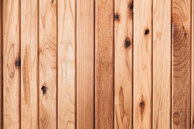 Parede de madeira de pinho ou painel de madeira