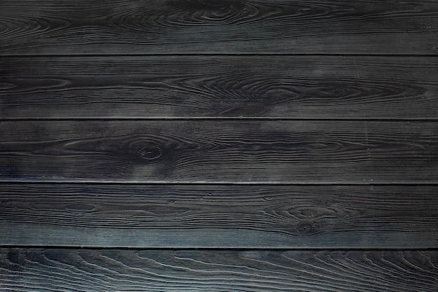 Parede de madeira marrom escuro retro gasto de pranchas, mesa ou fundo de banner de textura de piso. projeto de papel de parede de maquete de foto de mesa de madeira para decoração.