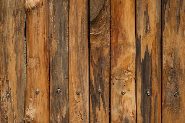 Parede de madeira para texto e fundo