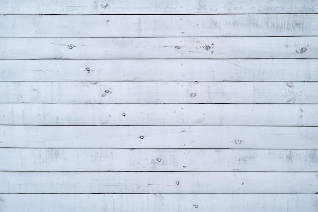 Parede de madeira pintada de branco para plano de fundo e textura.