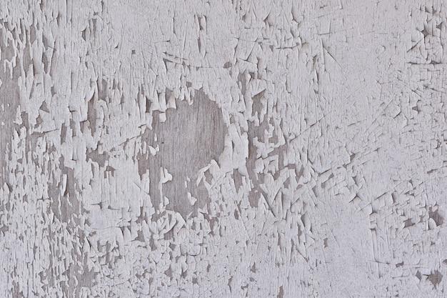 Parede de madeira velha de fundo descasque a parede de tinta de cor