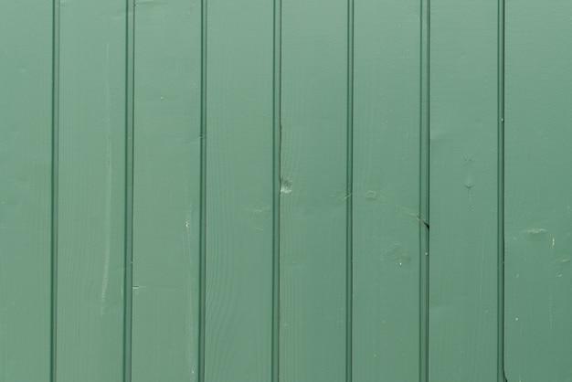 Parede de madeira verde