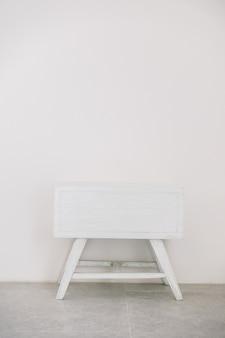 Parede de mesa textura fundo branco
