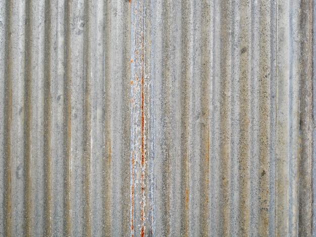Parede de metal, textura de telhado de zinco