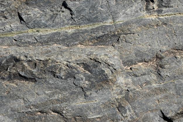 Parede de pedra cinza texturizada de fundo