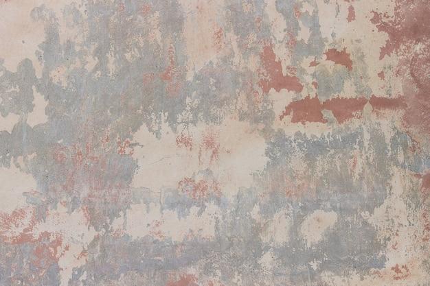 Parede de pedra com rachado, peeling de gesso e textura de tinta, fundo