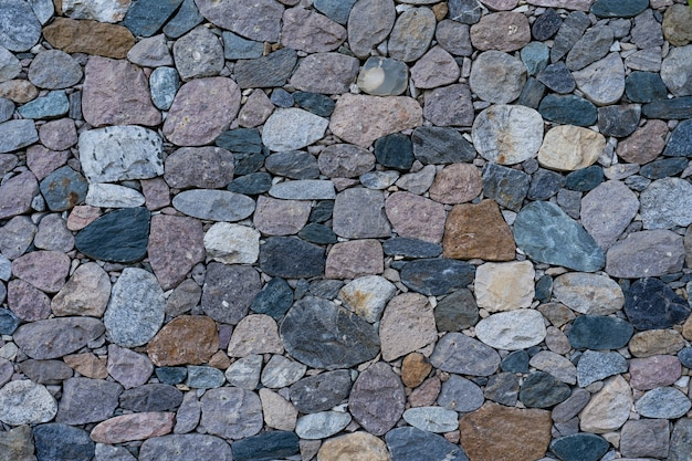Parede de pedra como textura e fundo