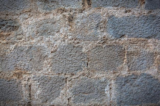 Parede de pedra como uma textura