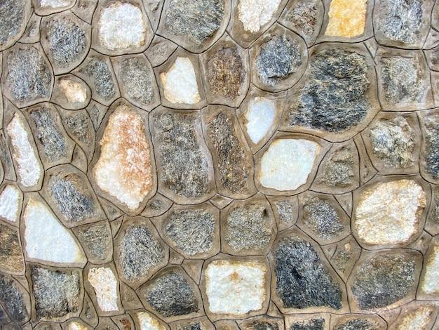 Parede de pedra da casa como textura de fundo