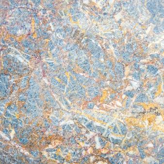 Parede de pedra de mármore cinza e azul ou fundo de textura de piso