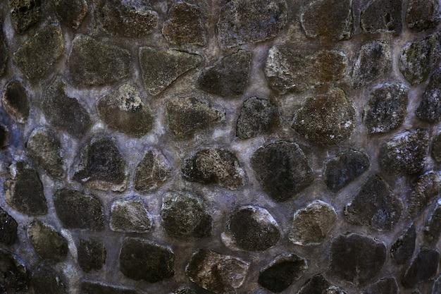 Parede de pedra para modelo de design