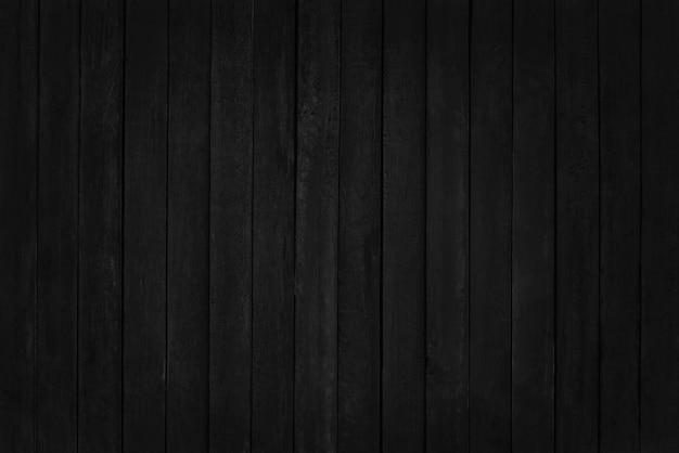 Parede de prancha de madeira preta, textura de madeira de casca de árvore com antigo padrão natural.