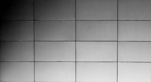Parede de telhas de meatl de luxo no edifício moderno
