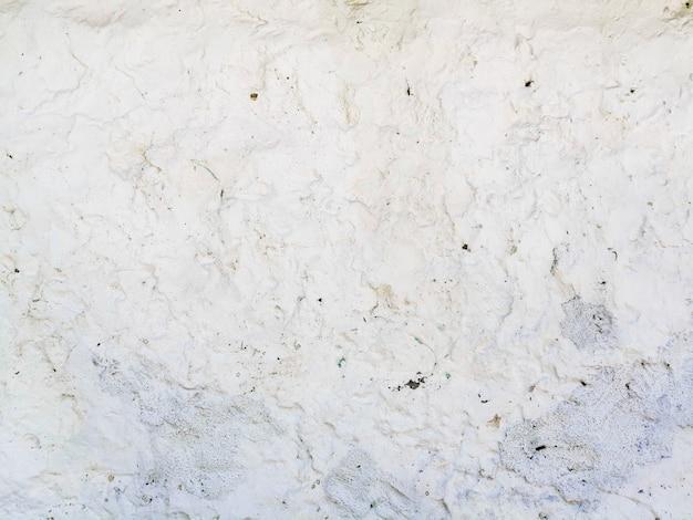 Parede de textura branca