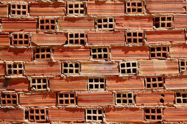 Parede de textura de brickwall de tijolo airbrick