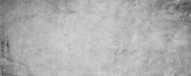 Parede de textura de cimento suja, fundo cinza de banner de concreto