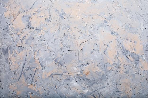 Parede de textura de pedra em cinza com manchas no estilo loft. tela cheia