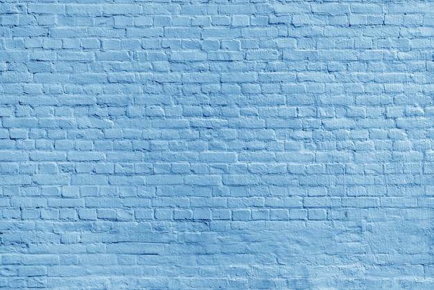 Parede de tijolo azul velha