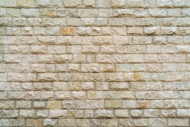 Parede de tijolo bege