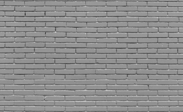 Parede de tijolo cinzenta