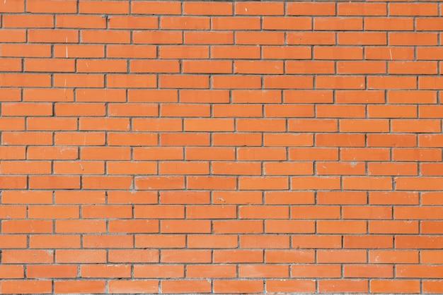 Parede de tijolo com tijolo vermelho