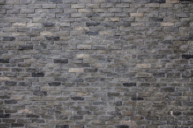 Parede de tijolo de rendilhado