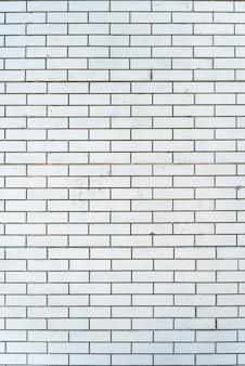 Parede de tijolo de silicato branco