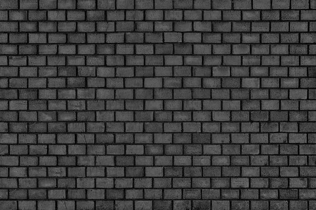 Parede de tijolo escuro, o bloco preto como textura de fundo