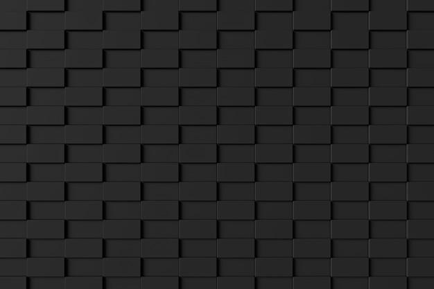 Parede de tijolo moderno. renderização em 3d.