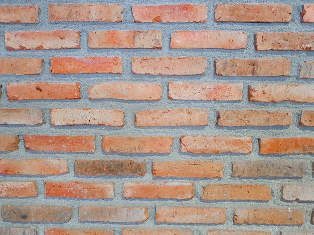 Parede de tijolo ou parede de cimento a fundo