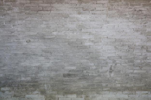 Parede de tijolo velho tom cinza para papel de parede e fundo vintage