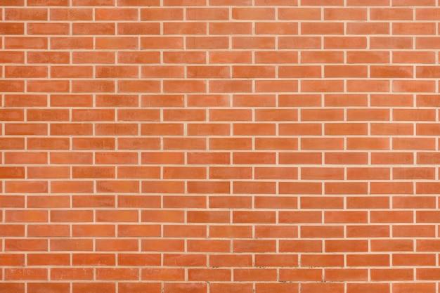 Parede de tijolo vintage marrom vermelho com estrutura pobre. fundo widewall de largura horizontal. textura de parede em branco de tijolo vermelho sujo. fachada retro da casa. banner panorâmico panorâmico abstrato. superfície de stonewall