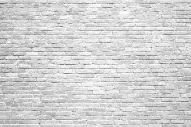Parede de tijolos brancos, textura de superfície antiga de blocos de pedra