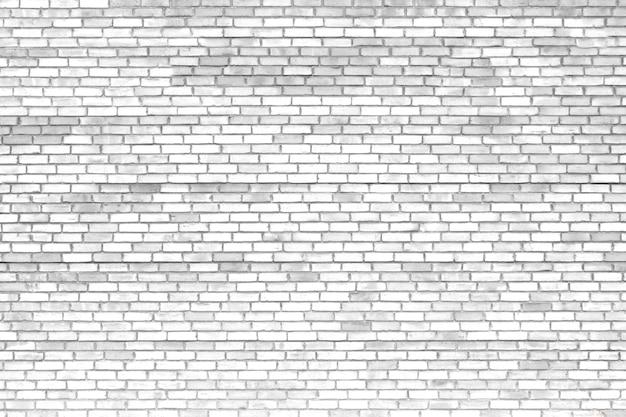 Parede de tijolos brancos, textura de superfície antiga de blocos de pedra Foto Premium