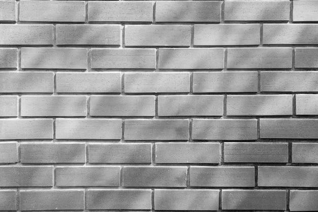 Parede de tijolos cinza