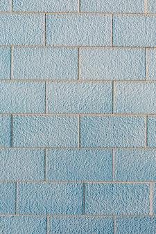 Parede de tijolos com superfície grossa