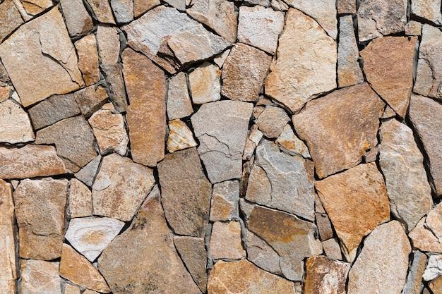 Parede de tijolos do grunge. textura de parede de pedra velha para segundo plano. parede de pedra como pano de fundo ou textura.